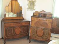 Hooker Bassett Furniture Co. circa 1933 Antique art