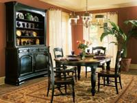 Manufacturer: Hooker Furniture, Black Finish with