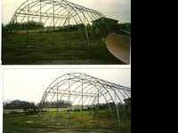 30ft x 40ft Hoop Building Frame. Can be used for