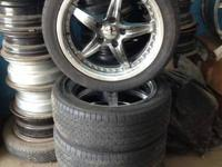JUST IN AT HOOPERS TIRE OUTLET IS A NICE SET OF 4 17""