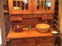 Add a true antique to your home, a Hoosier Cabinet from