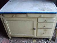 I have a nice Hoosier Cabinet for sale. It is pretty