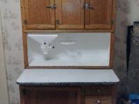 Hello, I am selling my Hoosier Cabinet that has been in