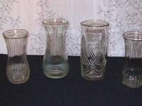 I have several Hoosier Glass Vases for sale for $5.00