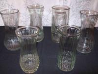 I have several Hoosier Glass Vases for sale for $3.00