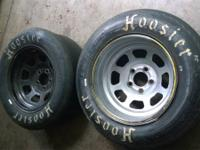 I have 6 used racing tires for sale, and three are