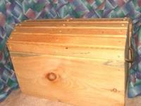 Pine pirates chest. Made from solid white pine.