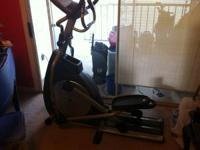 I have a horizon e5 H-series elliptical trainer