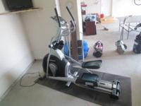 Less than 2 year old Horizon EX-79 Elliptical. Seldom