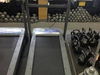 We have some brand brand-new Horizon T-202 Treadmills.