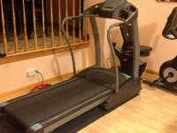 We are selling our treadmill Horizon Treadmill model