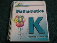 I have a teachers manual for the Horizons curriculum by