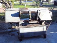 Metal Band Saw In working condition 1 horsepower 110