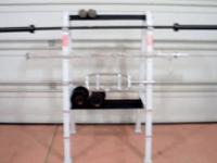 THIS IS A NEW HORIZONTAL BAR STORAGE RACK WITH TWO