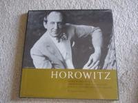 Vintage Horowitz boxed record set in new condition,