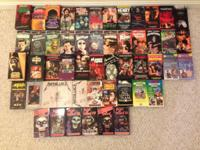 I'm offering my Horror collection on VHS. Romero's