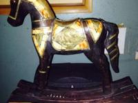 I have a mini rocking horse from the 1950's it's a