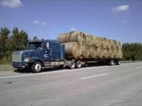 Quality Horse and Cow Hay ---Round Bales Contact Mike
