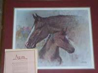 Jim Abeita authentic artwork Paperwork included Horse