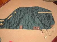 Have for sale two winter blankets and one fly sheet.