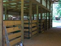 Professional Horse boarding and training facility in a