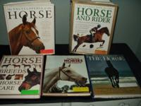 Sue-Z-Q.  2 dozen books about horses, horse care, and