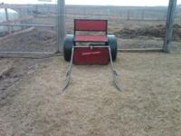 Single horse cart and harness. New is summer 2011 so
