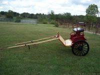 For Sale: Horse Drawn Cart. Never been pulled. Made by