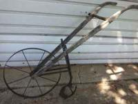 Plow great for lawn or flower garden $125 cash only
