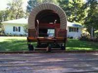 Wagon has new brakes, new tires, new tongue haflinger