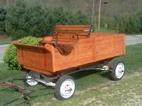Nice wagon ... approx. 4x5... single shaft... single