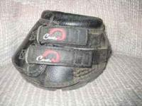 Black Cavallo SIMPLE horse hoof boots, size 1 ( go to