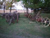 --- john deere horse cult $100---Oliver horse cult