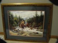 For Sale beautiful men on horses picture. It is a big