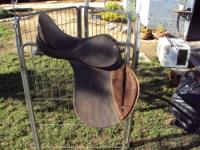 2 older forward seat hunt saddles. Still very usable.