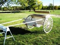 Nice horse show cart. Good condition $700 OBO Leather