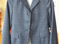 Show jacket, size 14-R, custom-made, The Elite, made in
