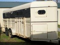Horse, Stock or Work Trailer. 16' enclosed, with ramp