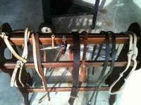 Headstall,bit,splitrains,and chinchain $15. Rear girt