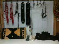 Too much tack for 2 horses. Great prices on new and