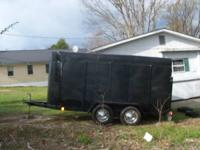 Horse trailer 14 foot inside 1 - 2 horses pending on