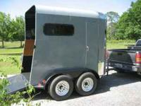 Completley redone horse trailer. This thing is brand