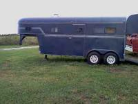 Pioneer Horse Trailer-1989 2 horse straight load but