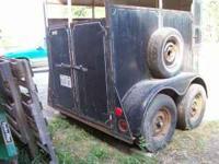 Nice 14' bumper pull horse/stock trailer - (Lerna) for ...