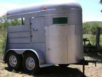 2 horse trailer with tack compartment and slide out