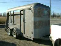 SANDBLAST AND PAINTING HORSE TRAILERS RESONABLE RATES