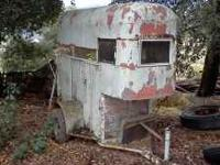 single Stall horse trailer, make offer Call Harry