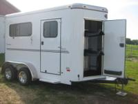 2011 Sundowner 2 Horse Bumper Pull Trailer. BRAND NEW