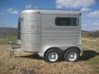 We are RENTING our (2) Two Horse Trailers at $50./Day.