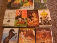 9 horse videos all in good working condition $20. Also
